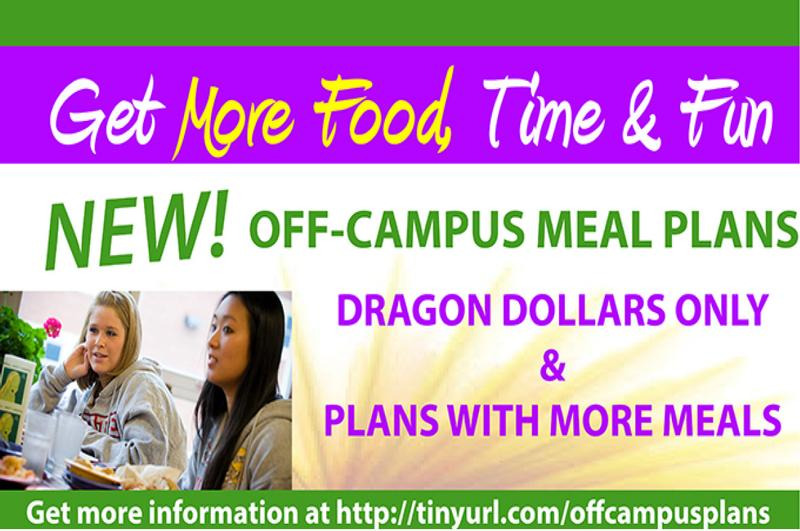 NEW Off-Campus Meal Plans