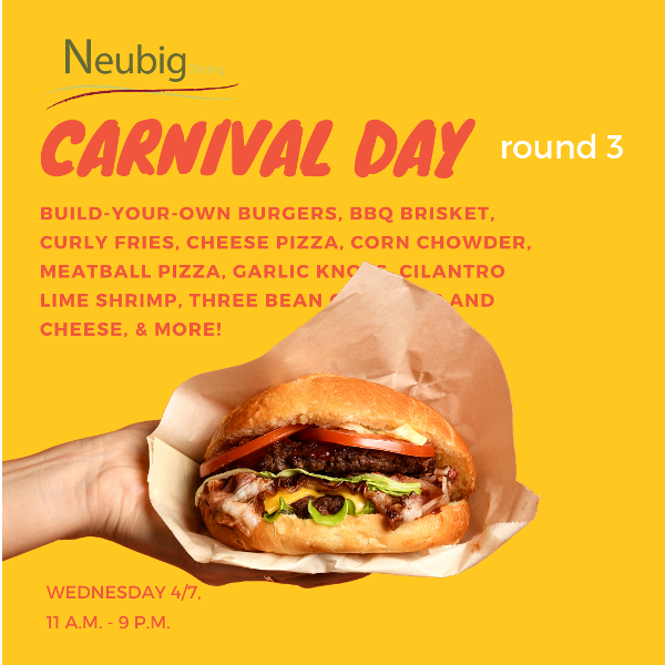 Carnival Day at Neubig!