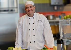 Chef James Webb awarded the title of Certified Executive Chef (CEC).