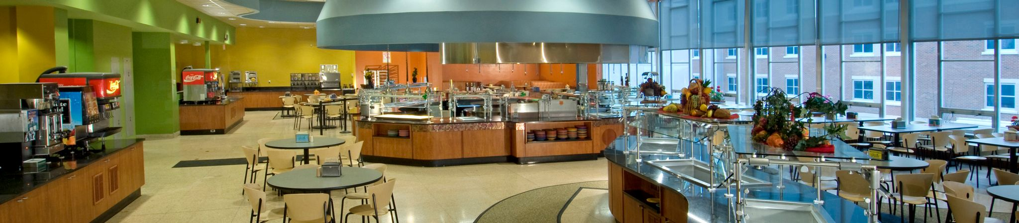 Unlimited access dining facility.