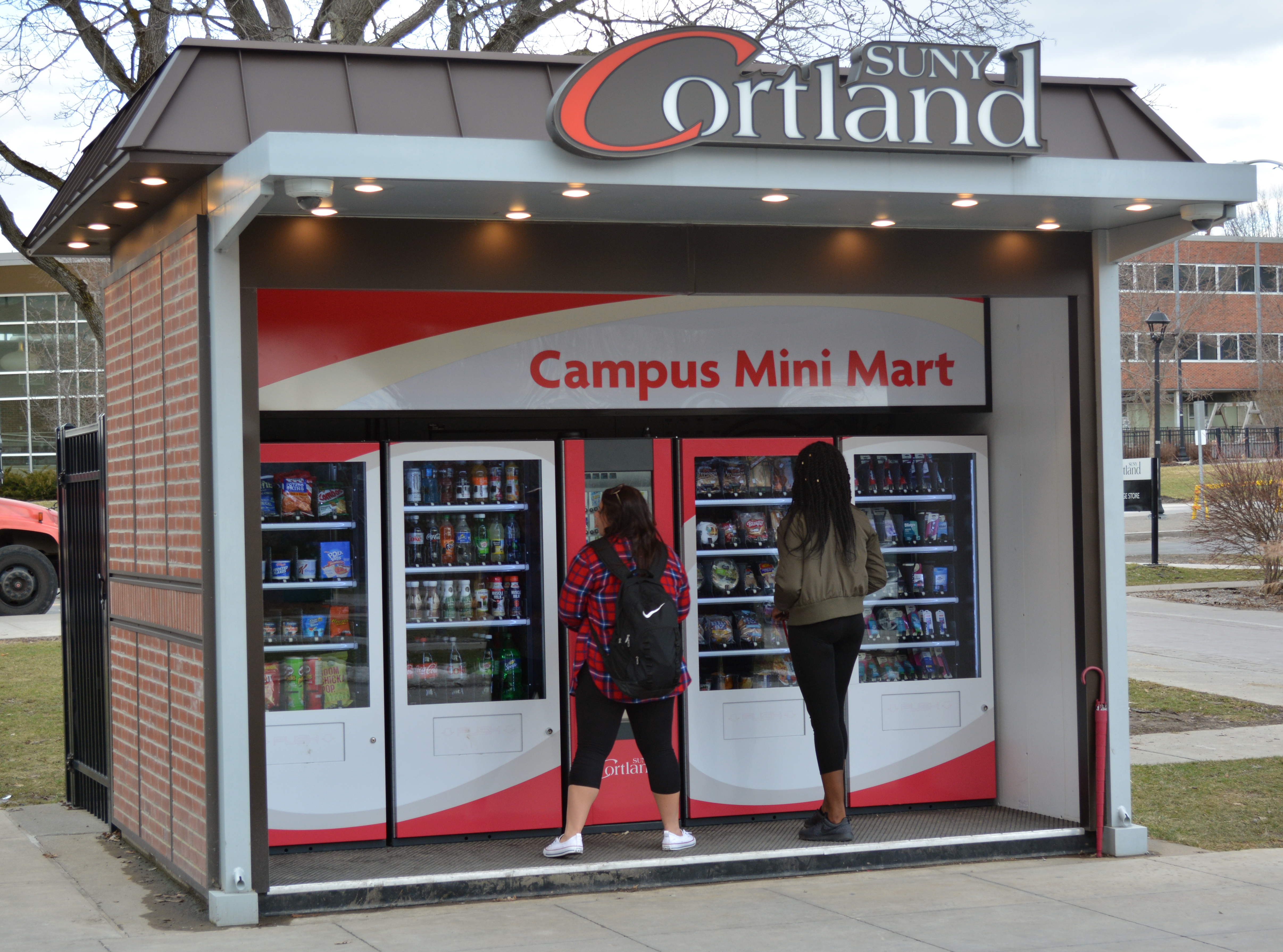 To students using the Campus Mini Mart.