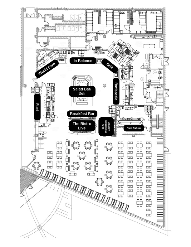 The bistro asc cortland auxiliary services corporation for Brewery floor plan software